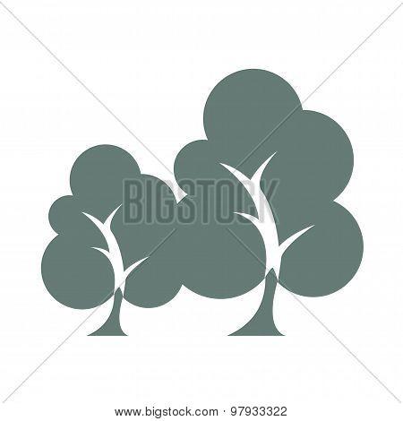 Sustainability - Trees Icon