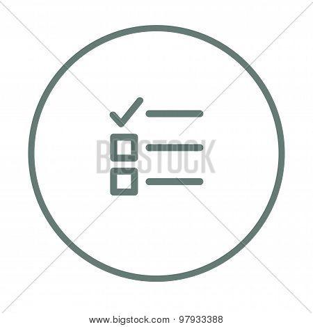 Tasks - Checklist Icon