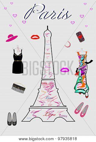 Fashion for women Shopping in Paris