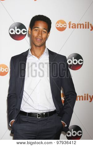 , LOS ANGELES - AUG 4:  Alfred Enoch at the ABC TCA Summer Press Tour 2015 Party at the Beverly Hilton Hotel on August 4, 2015 in Beverly Hills, CA