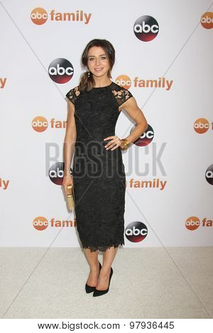 LOS ANGELES - AUG 4:  Caterina Scorsone at the ABC TCA Summer Press Tour 2015 Party at the Beverly Hilton Hotel on August 4, 2015 in Beverly Hills, CA