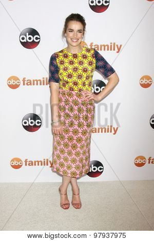 , LOS ANGELES - AUG 4:  Elizabeth Henstridge at the ABC TCA Summer Press Tour 2015 Party at the Beverly Hilton Hotel on August 4, 2015 in Beverly Hills, CA