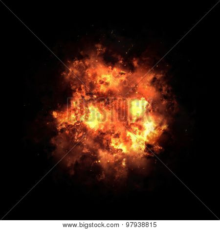 Fire Smoke Explosion