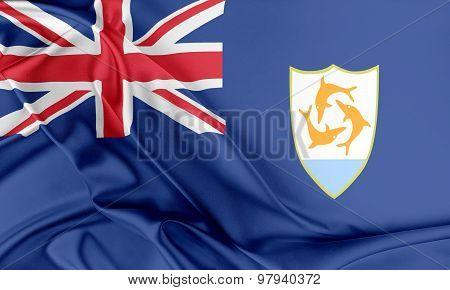 Anguilla Flag.