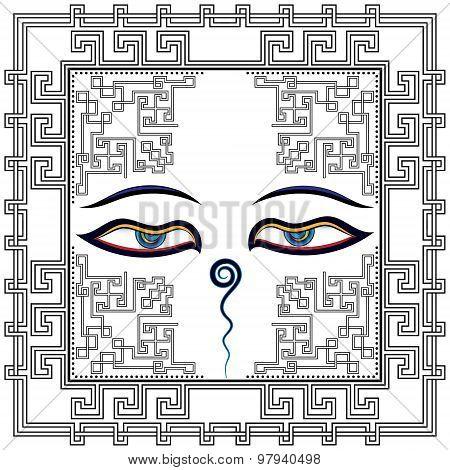 Tibetan eyes.