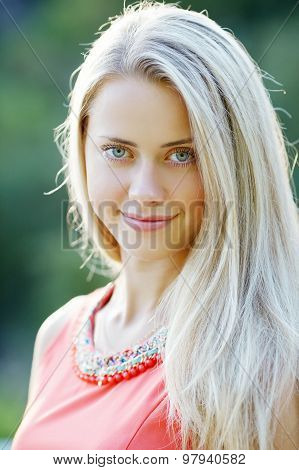 beautiful girl sensual portrait
