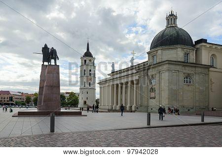 Vilnius, Cathedral Square