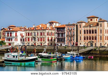 Saint-Jean-de-Luz harbour, France