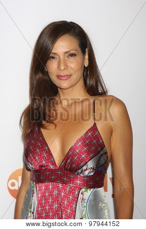 LOS ANGELES - AUG 4:  Constance Marie at the ABC TCA Summer Press Tour 2015 Party at the Beverly Hilton Hotel on August 4, 2015 in Beverly Hills, CA