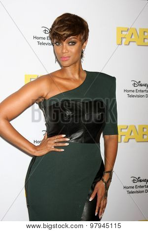 LOS ANGELES - AUG 4:  Tyra Banks at the ABC TCA Summer Press Tour 2015 Party at the Beverly Hilton Hotel on August 4, 2015 in Beverly Hills, CA