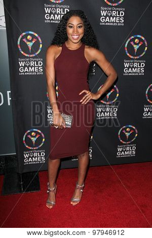 LOS ANGELES - JUL 31:  Ariane Andrew at the Special Olympics Inaugural Dance Challenge at the Wallis Annenberg Center For The Performing Arts on July 31, 2015 in Beverly Hills, CA