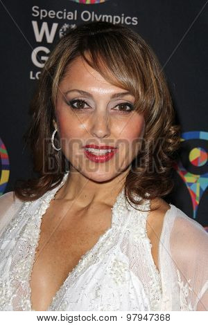 LOS ANGELES - JUL 31:  Miriam Larici at the Special Olympics Inaugural Dance Challenge at the Wallis Annenberg Center For The Performing Arts on July 31, 2015 in Beverly Hills, CA