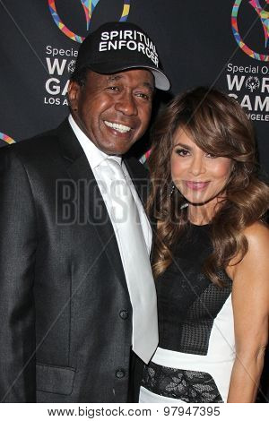 LOS ANGELES - JUL 31:  Ben Vereen, Paula Abdul at the Special Olympics Inaugural Dance Challenge at the Wallis Annenberg Center For The Performing Arts on July 31, 2015 in Beverly Hills, CA
