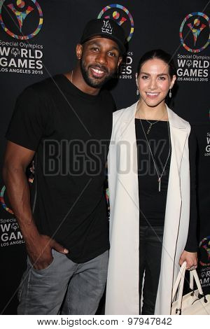LOS ANGELES - JUL 31:  Stephen  Boss, Allison Holker at the Special Olympics Inaugural Dance Challenge at the Wallis Annenberg Center For The Performing Arts on July 31, 2015 in Beverly Hills, CA