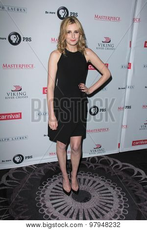 LOS ANGELES - AUG 1:  Laura Carmichael at the