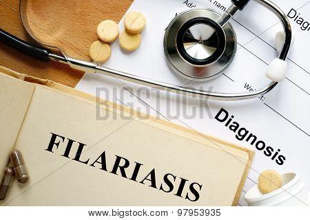 Word Filariasis.