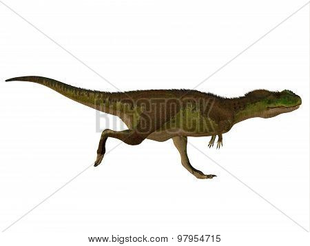Rugops Dinosaur Side Profile