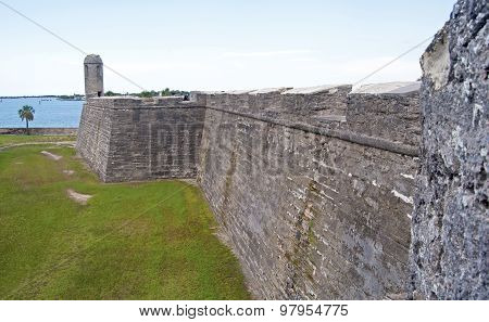 Walls of an old fort