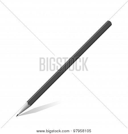 Grey graphite Pencil