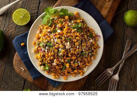 Homemade Mexican Corn Salad