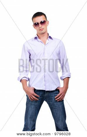 Young Man In Jean