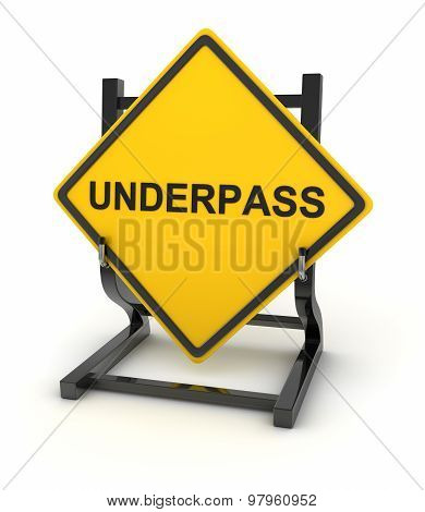 Road Sign - Underpass