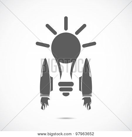 Bulb with jet engines