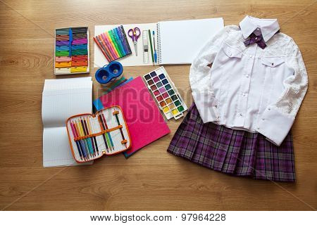 School Supplies First-grader