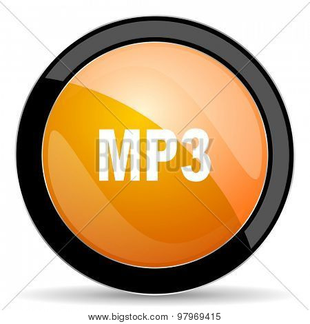 mp3 orange icon
