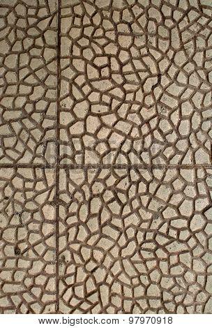 Concrete Organic Pattern Background