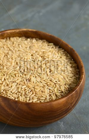 Raw Brown or Wholegrain Rice
