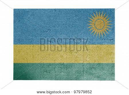 Large Jigsaw Puzzle Of 1000 Pieces- Rwanda