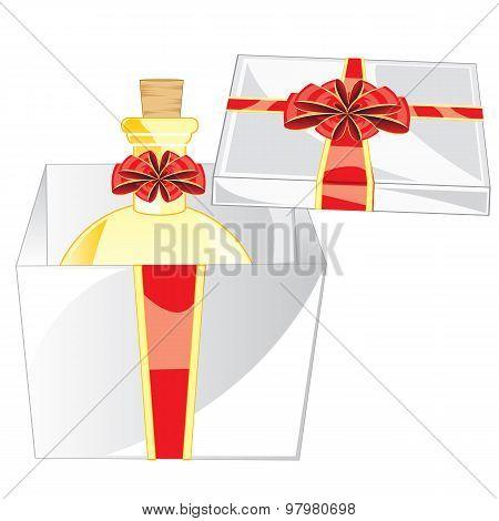 Box with spirit