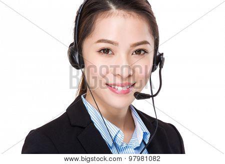 Telemarketing operator