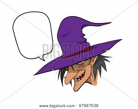 Witch With Text