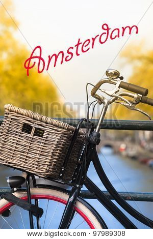 Amsterdam Bicycle Detail