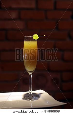 Mimosa Or Valencia Cocktail