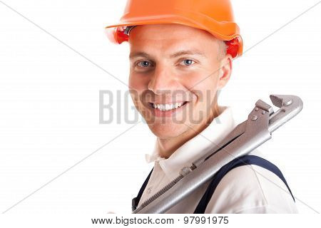 Smiling Handsome Handyman