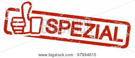 Red Stamp Spezial