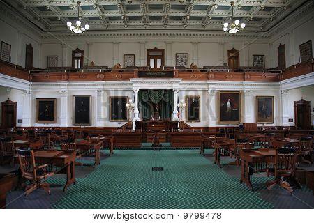Austin Texas Senate Chamber