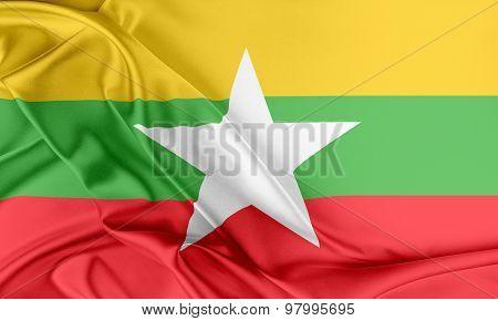 Burma Flag.