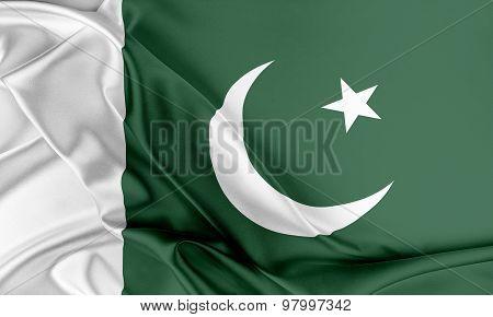 Pakistan Flag.