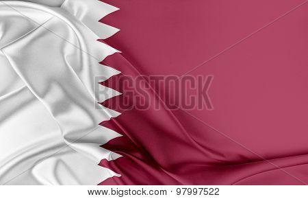Qatar Flag.