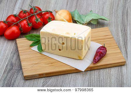 Yellow Cheese Brick