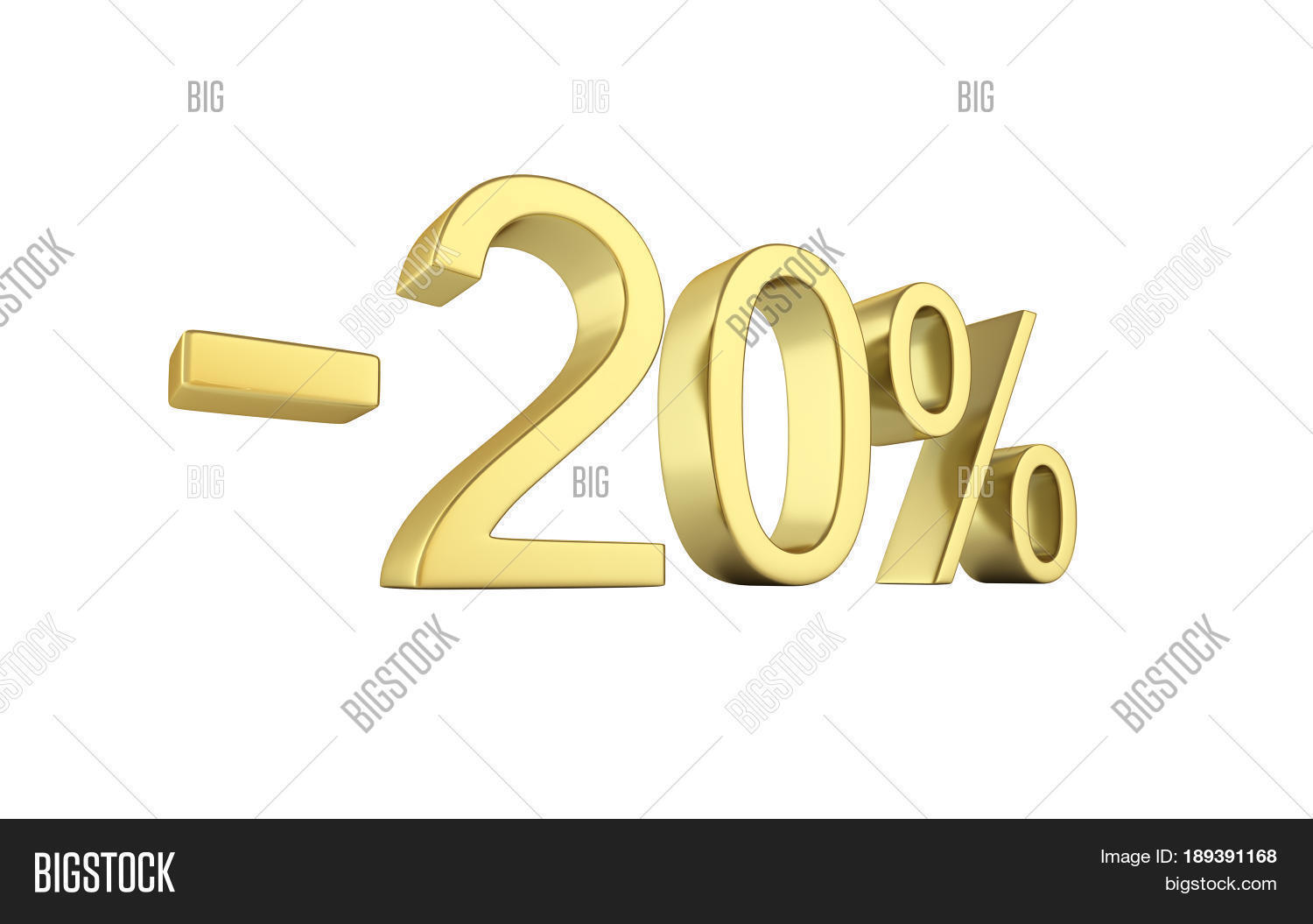 gold text 20 percent off on white image photo bigstock. Black Bedroom Furniture Sets. Home Design Ideas
