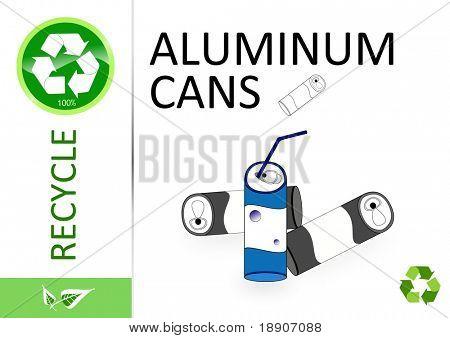 Please recycle aluminum