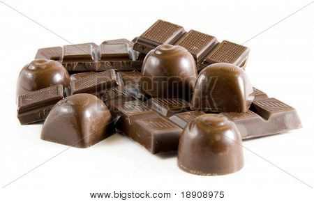 Delicious chocolate mix