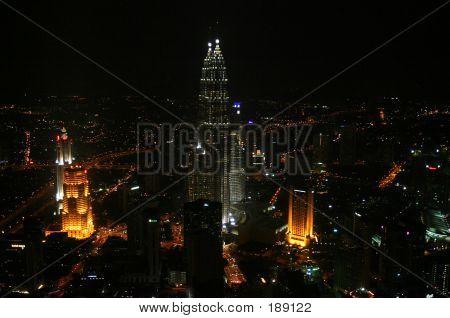Kuala Lumpur Night Scene
