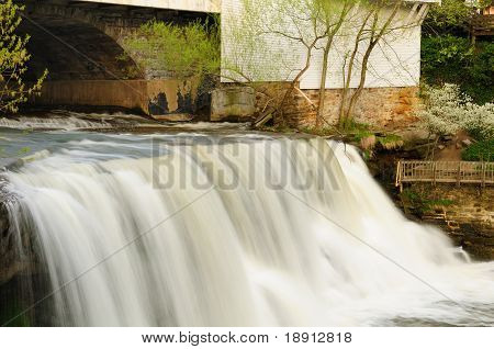 Village Waterfall