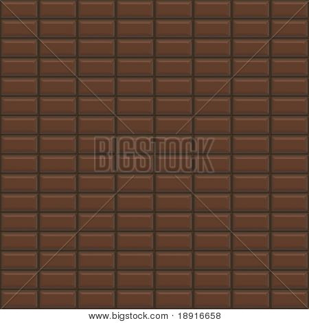 chocolate bars forming a seamless pattern